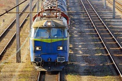 Fototapeta Nákladní vlak
