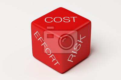 Náklady úsilí Risk Dice