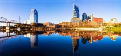 Fototapeta Nashvillle Skyline, Tennessee, Spojené státy americké