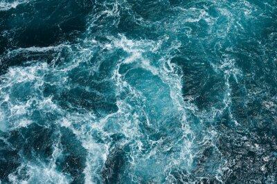 Fototapeta nebezpečné víření na středozemním moři