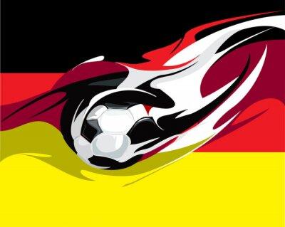 Fototapeta německý fotbal