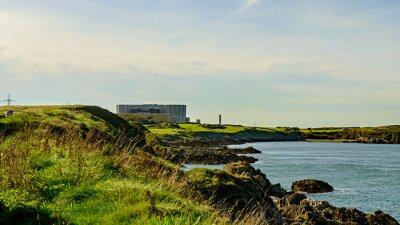 Fototapeta Nepoužívaný a vyřazováno z Nuclea Power Station, Wylfa, Wales.