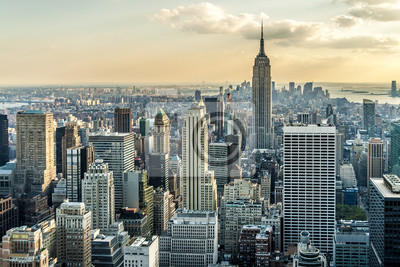 Fototapeta New York City Aerial View