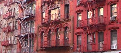 Fototapeta New York City / Nouzový východ