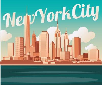 Fototapeta New York City skyline