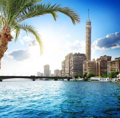 Fototapeta Nil v Káhiře