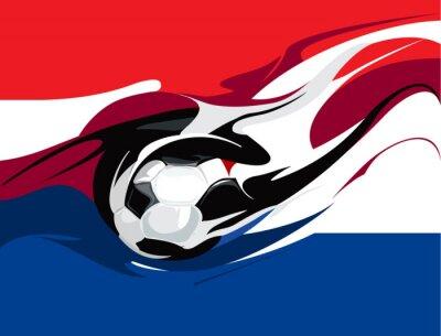 Fototapeta nizozemský fotbalový