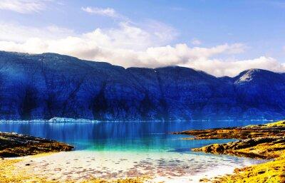 Fototapeta Norsko krajiny