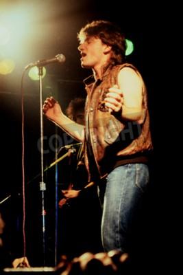 Fototapeta Norwich, Anglie, 1. října 1981 - koncert U2 u UEA