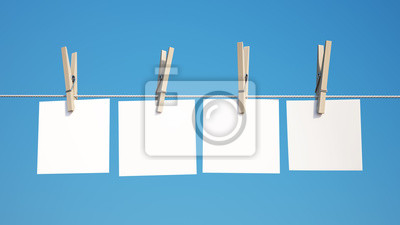 Note on Clothespin with Clipping Path