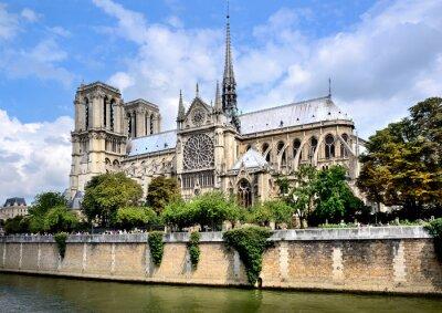 Fototapeta Notre-Dame, Paříž