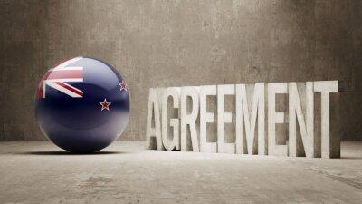 Nový Zéland. Dohoda Concept