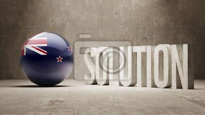 Nový Zéland. Solution Concept.