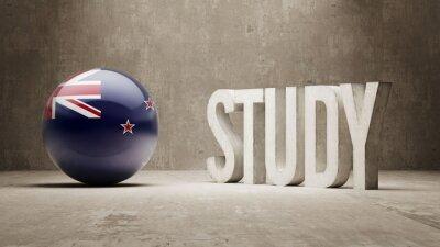 Nový Zéland. Studie Concept.