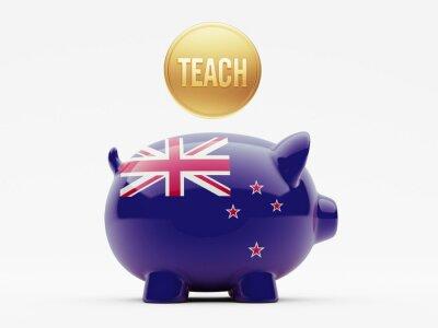 Nový Zéland Teach Concept