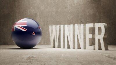 Nový Zéland. Vítěz Concept.