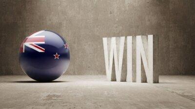 Nový Zéland. Win Concept.