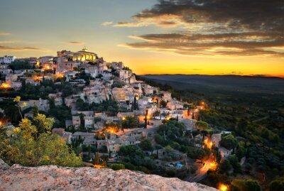 Fototapeta obec de Gordes En Provence
