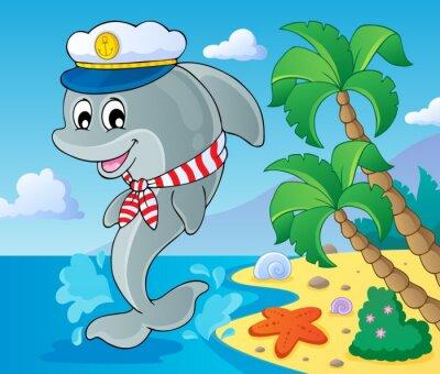 Fototapeta Obrázek s tématem delfín 3