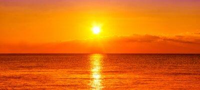 Fototapeta Oceánu a západu slunce