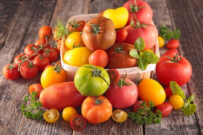 Fototapeta odrůda rajčat