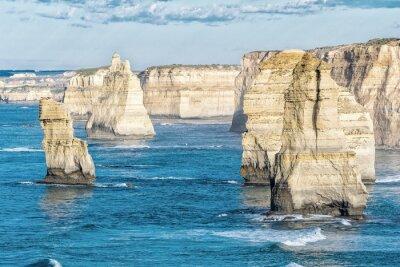 Fototapeta Ohromující Letecký pohled na dvanáct apoštolů, Victoria - Austrálie