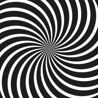 Fototapeta Op Art Swirl Spiral Background