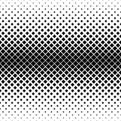 Fototapeta Opakování monochromatický square pattern