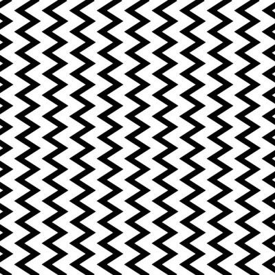 Fototapeta Opakovatelné vlnitý, klikatý Svislé čáry paralelně.