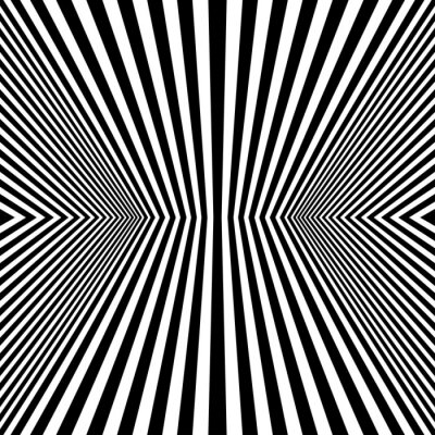 Fototapeta Optical Art Rhombus bezešvé vzor