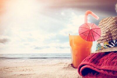 Fototapeta oranžový nápoj
