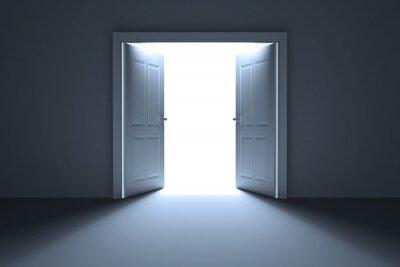 Fototapeta Otevřené dveře