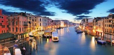 Fototapeta Panorama Benátek od mostu Rialto