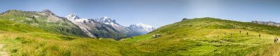 Fototapeta Panorama Mont Blac