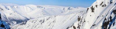 Fototapeta Panorama severních horách