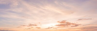 Fototapeta panorama západ slunce nebe
