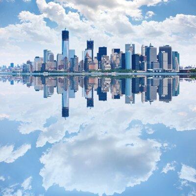 Fototapeta Panoramatický snímek z dolní Manhattan skyline