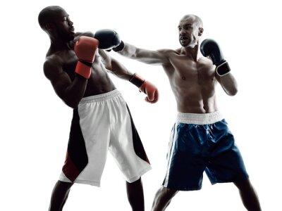 Fototapeta pánské boxerky boxu samostatný silueta