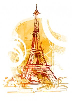 Fototapeta Paris Summer