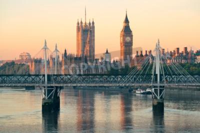 Fototapeta Parlamentní dům ve Westminsteru v Londýně.