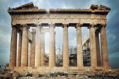 Fototapeta Parthenon, Acropolis v Aténách