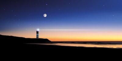 Fototapeta Paysage Phare-mer