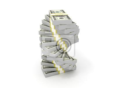 Peníze nám dolarů spirála