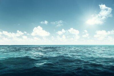 Fototapeta perfektní obloha a oceán