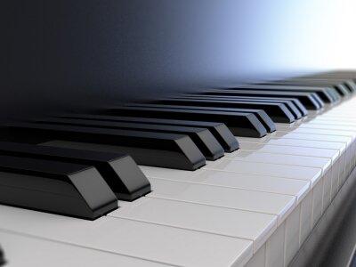 Fototapeta piano keyboard