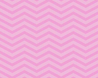 Fototapeta Pink Chevron ZZ látkových podtisk
