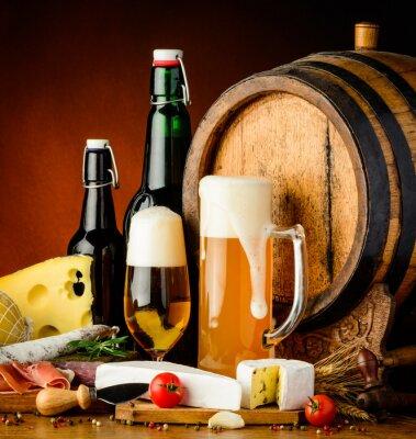 Fototapeta pivní nápoje