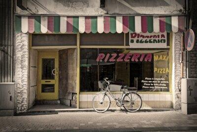 Fototapeta pizzérie