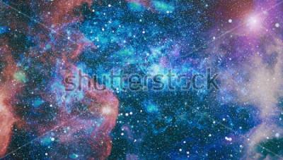 Fototapeta planety, hvězdy a galaxie ve vesmíru, které mají krásu průzkumu vesmíru. Prvníky NASA