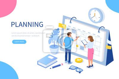 Fototapeta planning